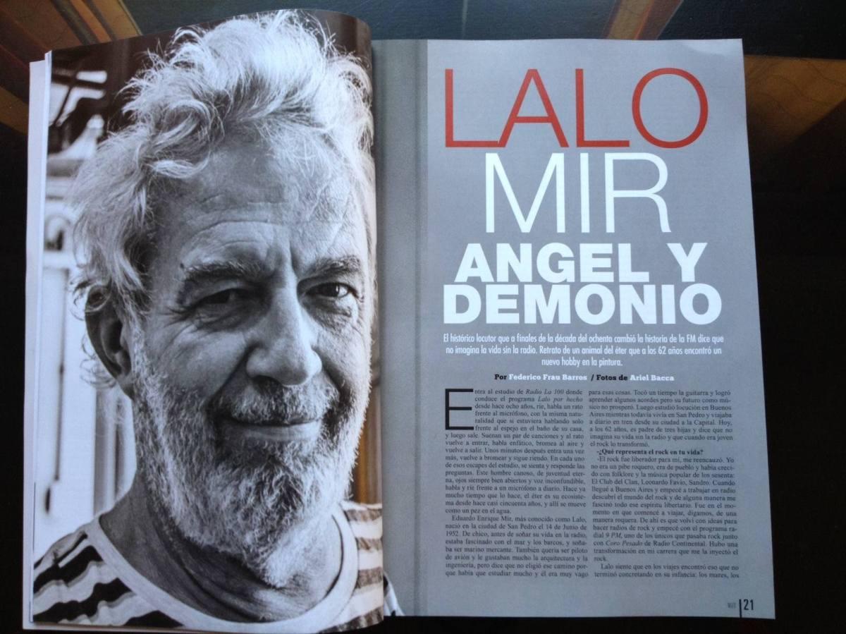 Lalo Mir, ángel y demonio