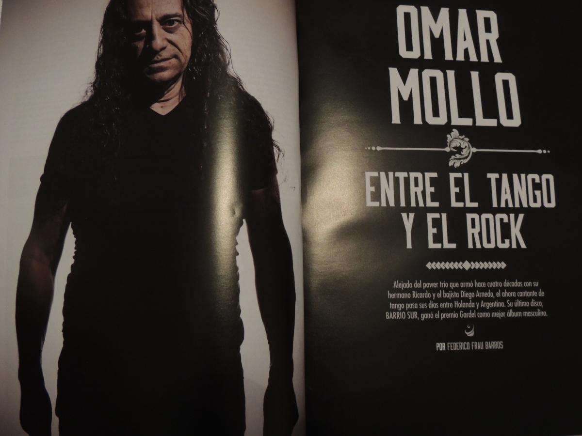 Omar Mollo, entre el tango y el rock