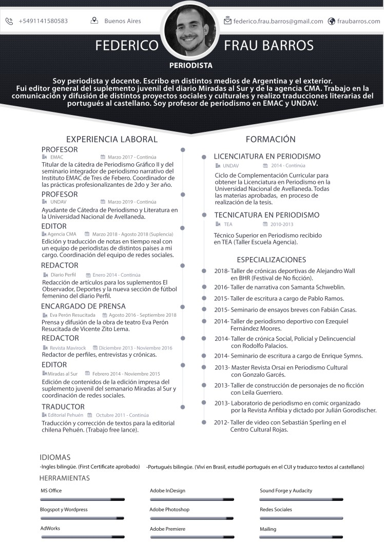 CV Frau Barros